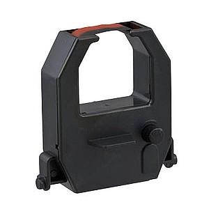 Farbbandkassette schwarz/rot