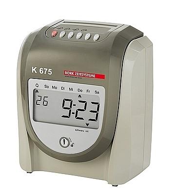 rechnende Stempeluhr K 675